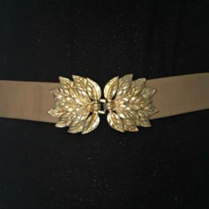 Vintage✨Mimi DiN ✨designer adjustable gold belt